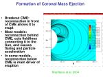 formation of coronal mass ejection
