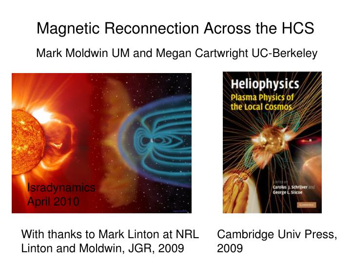 magnetic reconnection across the hcs n.