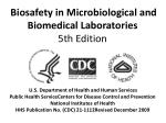 biosafety in microbiological and biomedical laboratories 5th edition