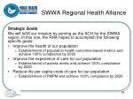 swwa regional health alliance