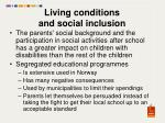 living conditions and social inclusion2