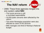 the nav reform1
