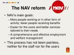 the nav reform2