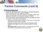 parties comments cont d4