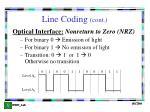 line coding cont