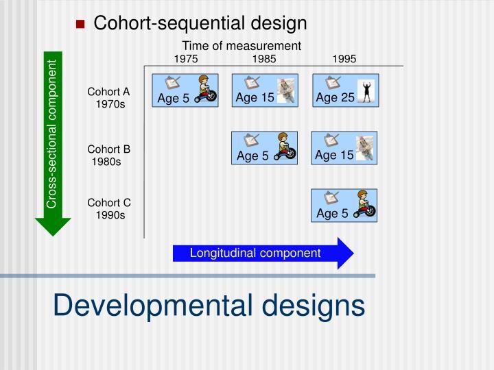 Cohort-sequential design