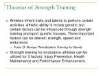 theories of strength training