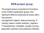 bpm project group