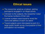 ethical issues1