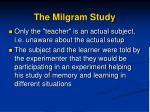 the milgram study1