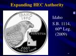 expanding hec authority1