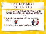 present perfect continuous1