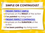 simple or continuous1