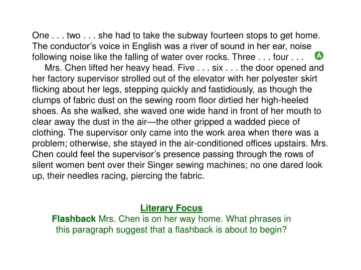 One . . . two . . . she had to take the subway fourteen stops to get home. The conductor's voice i...