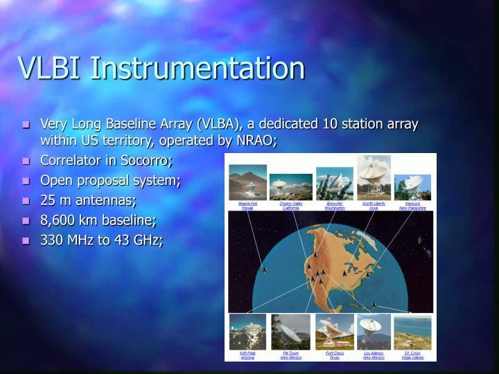 VLBI Instrumentation