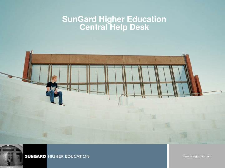 sungard higher education central help desk n.