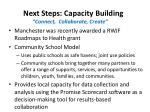 next steps capacity building