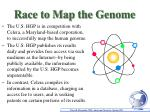 race to map the genome