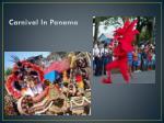 carnival in panama