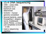 15 4 dna sequencing