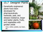 15 7 designer plants
