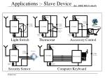 applications slave device