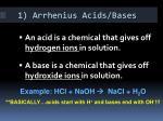 1 arrhenius acids bases