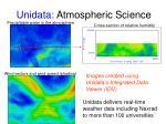 unidata atmospheric science