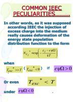 common ieec peculiarities3