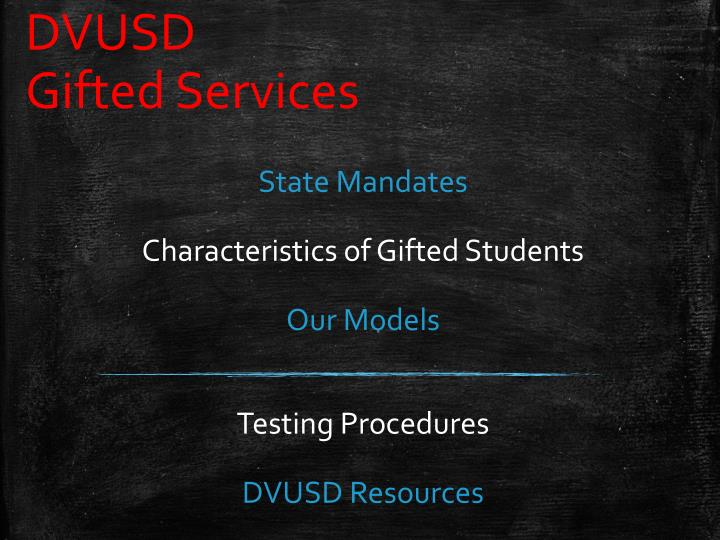 dvusd gifted services n.