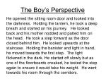 the boy s perspective