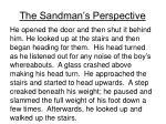 the sandman s perspective