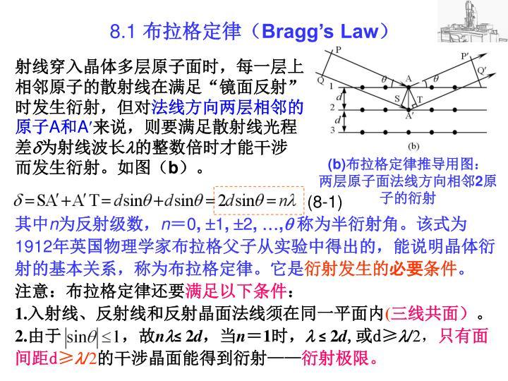 8 1 bragg s law1