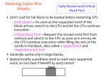 reducing cache miss penalty2
