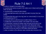 rule 7 2 art 1
