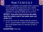rule 7 2 art 2 3