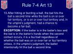 rule 7 4 art 13