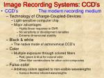 image recording systems ccd s
