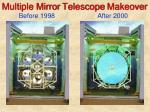 multiple mirror telescope makeover