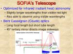 sofia s telescope
