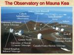 the observatory on mauna kea