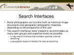 search interfaces