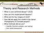 theory and research methods