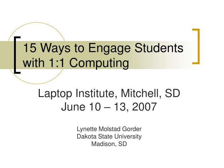 15 ways to engage students with 1 1 computing n.