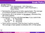 grade policy