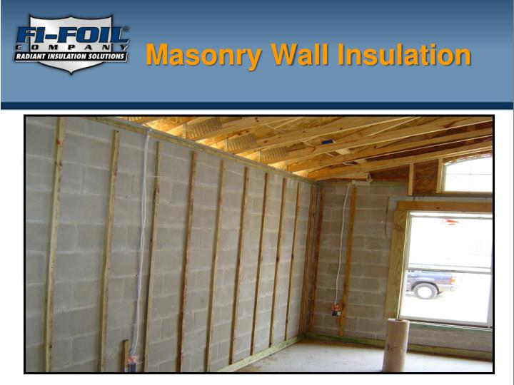 Ppt masonry wall insulation powerpoint presentation id for Stone wall insulation