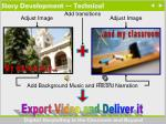 story development technical