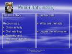 white hat thinking