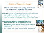 definition responsive energy