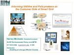 informing utilities and policymakers on the customer side of smart grid1